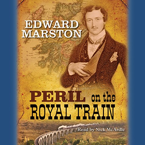 Peril on the Royal Train audiobook cover art
