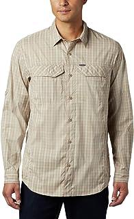 Columbia Silver Ridge Lite Plaid Long Sleeve Shirt, Quick Dry, Sun Protection Silver Ridge Lite Plaid à Manches Longues Homme