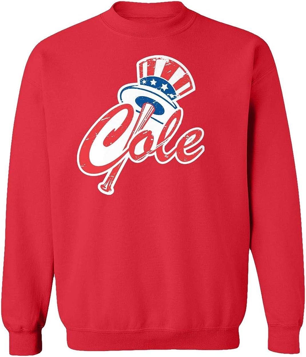 Baku Apparel New York Fans NY Cole Logo Unisex Youth Sweatshirt