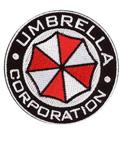 Titan One Europe - Round Umbrella Corporation Resident Evil Aufnäher (Aufbügler)