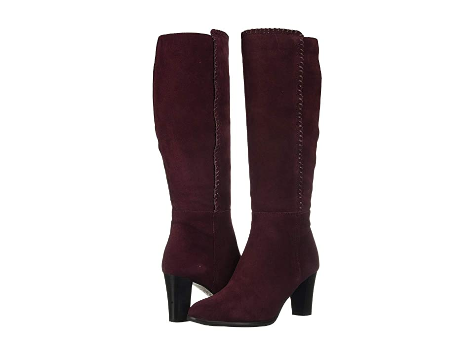 Blondo Edith Waterproof (Burgundy Suede) Women