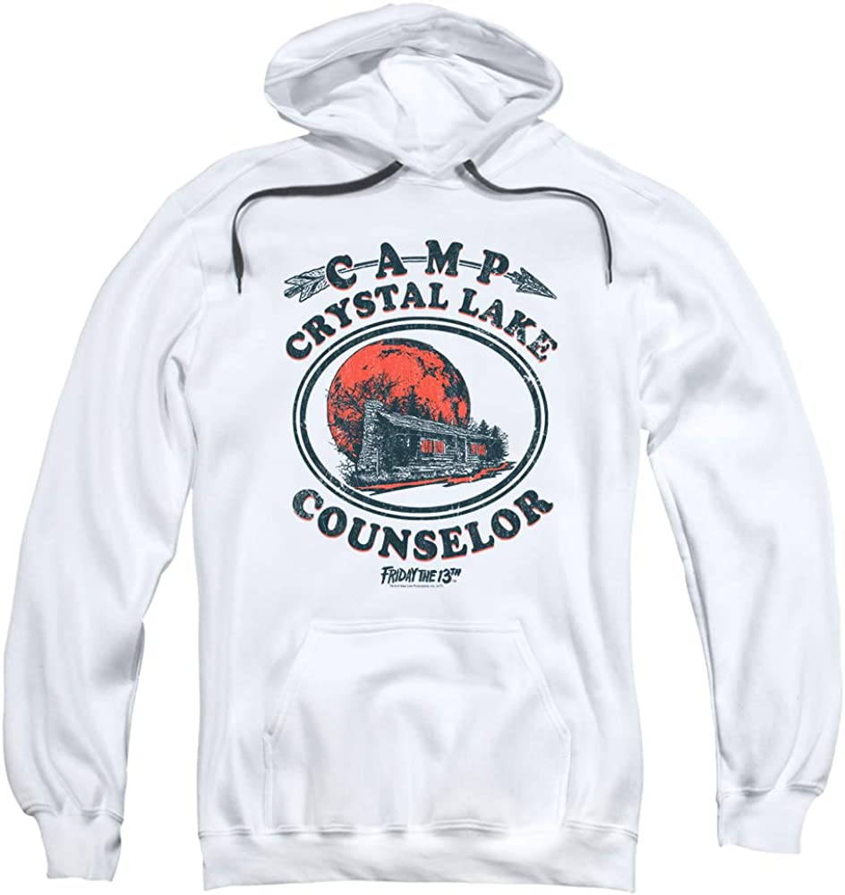 Friday the Cheap mail order sales 13th Game Camp Crystal Rare Pullover Counselor Lake Hoodie