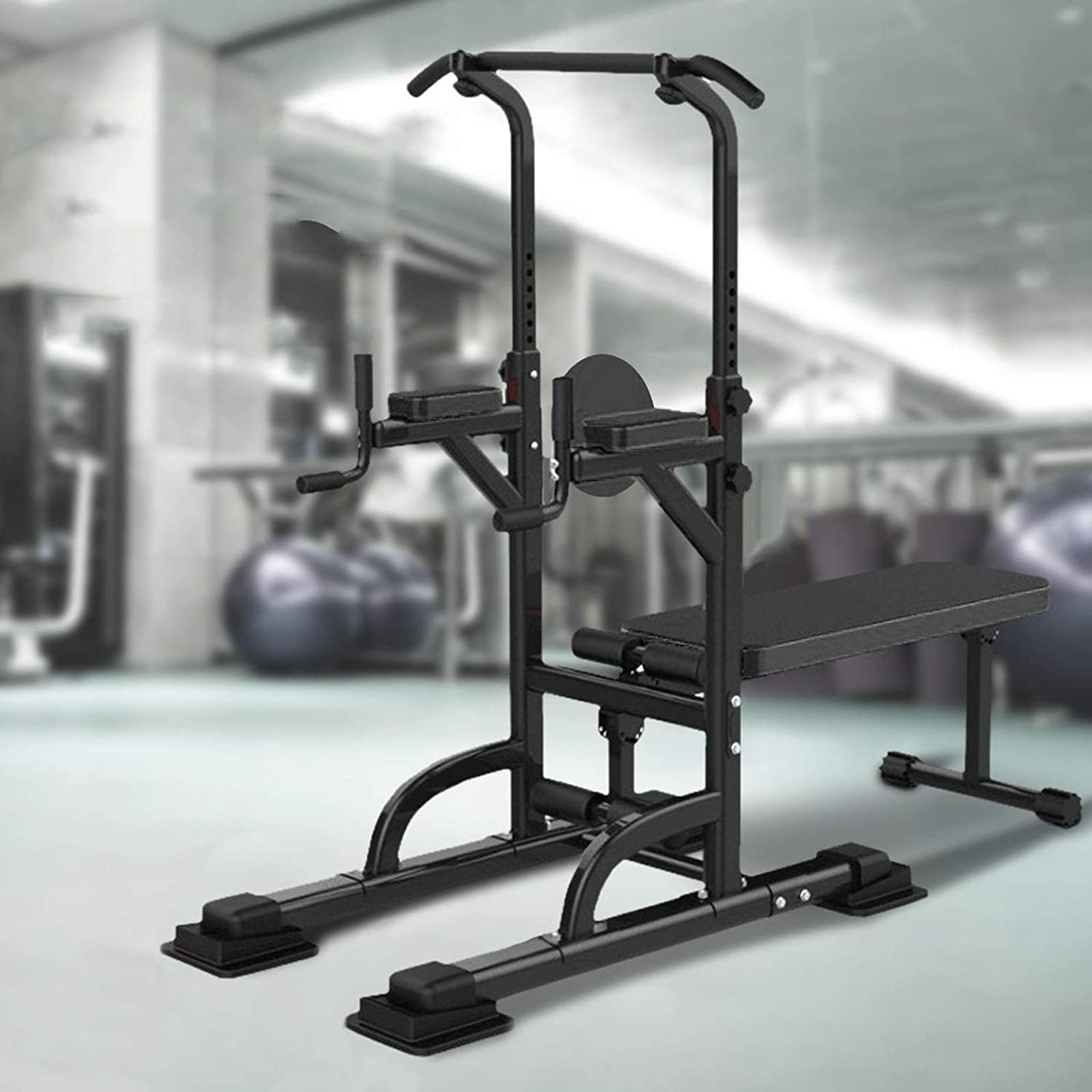 Qianglin Heavy Duty Power Tower Dip Body for Max 73% OFF Station Workou New product!! Full
