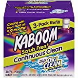 Best Automatic Toilet Bowl Cleaners - 3-Pack Refill – Kaboom Scrub Free! Continuous Clean Review