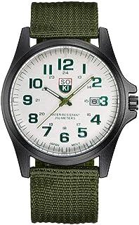 Relógio de pulso-Relógio de pulso masculino de quartzo tecido de náilon masculino relógio da moda esportes relógios de pul...