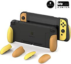 Skull & Co. GripCase: A Comfortable Protective Case with Replaceable Grips [to fit All Hands Sizes] for Nintendo Switch [No Carrying Case]- Pokemon Edition
