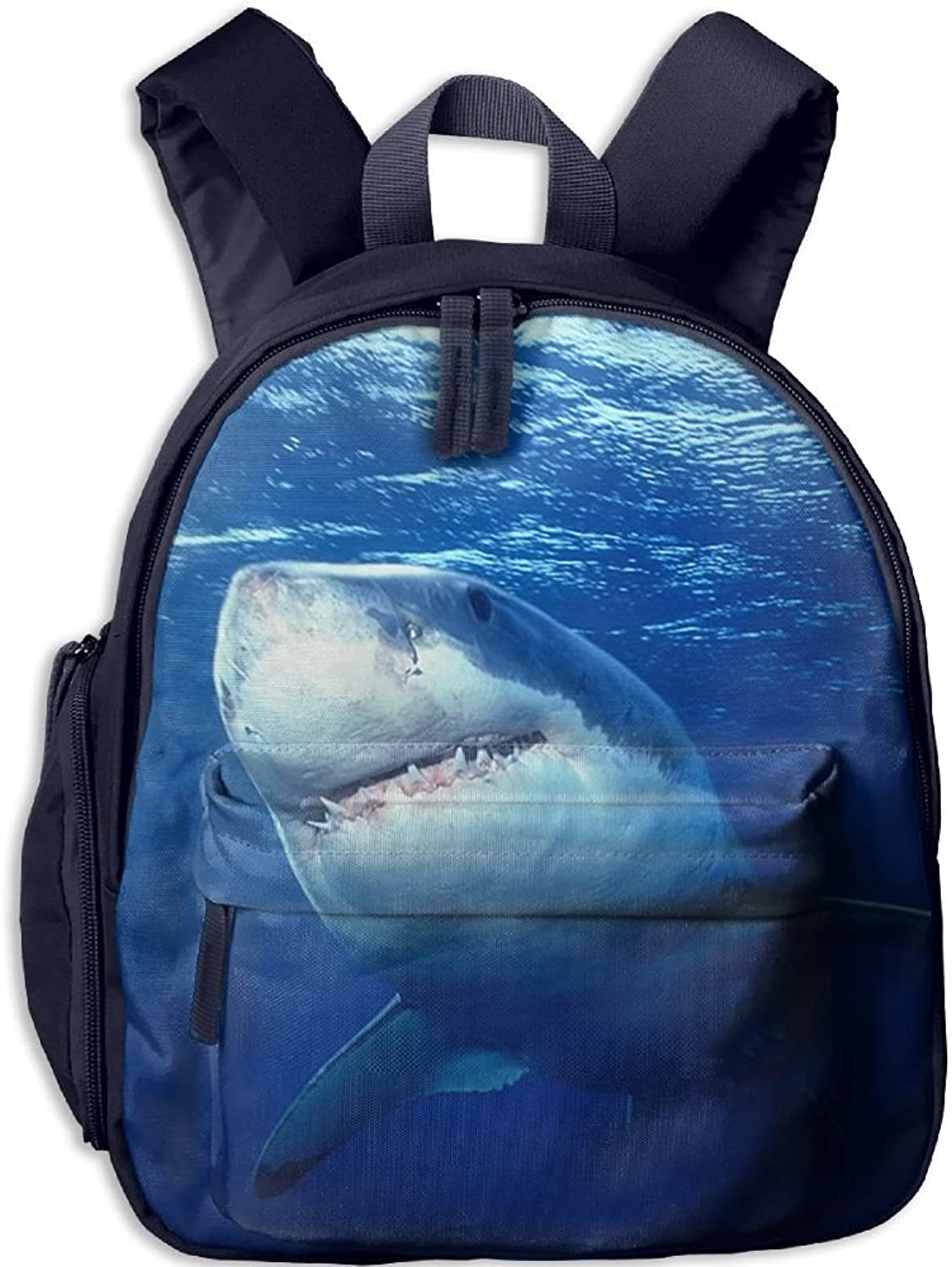Pinta Terror Shark Cub Cool School Book Bag Backpacks for Girl's Boy's