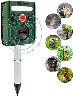 Repelente ultrasónico de plagas de animales Energía solar impermeable al aire libre con sensor PIR