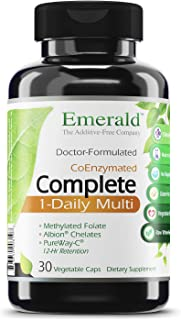 Emerald Labs Complete 1-Daily Multi - Multivitamin with Vitamins and Mineral to Support Heart, Bones, and Immune System - ...