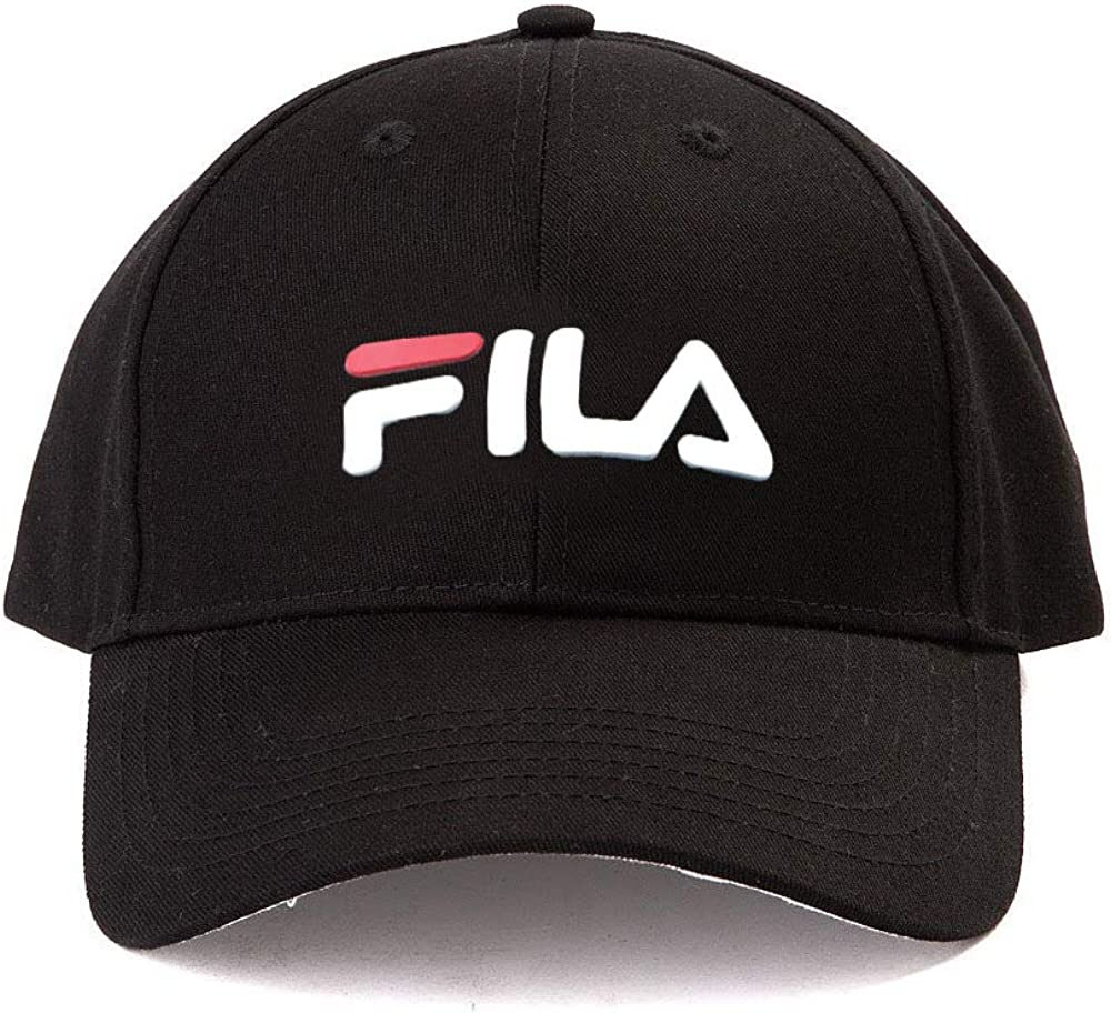 Fila Unisex Heritage Logo Adjustable Snapback Baseball Hat