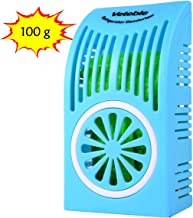 Veteble Reusable Refrigerator Deodorizer, Fridge & Freezer Odor Eliminator, Better Than Baking Soda, Blue