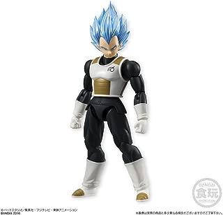Bandai Shokugan Shodo Dragon Ball Z Super Saiyan God SS Vegeta Action Figure