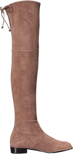 Taupe Suede Stretch