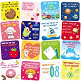 60 Lunch Box Jokes for Kids Cute Lunchbox Notes Motivational and Inspirational Cards for Boy's and Girl's Lunchbox