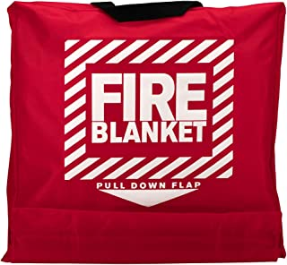 First Aid Only 21-650 Woolen Fire Blanket in Nylon Pouch