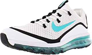 Air Max More Men's Fashion Sneakers, Size 14, Color White/Dusty Cactus