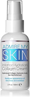 Admire My Skin Collagen Beauty Cream - Hyaluronic Acid Moisturizer - Powerful Hyaluronic Acid Cream Face Lotion Won't Clog Pores & Will Provide You With That Healthy Youthful Glow (2 fl. oz)