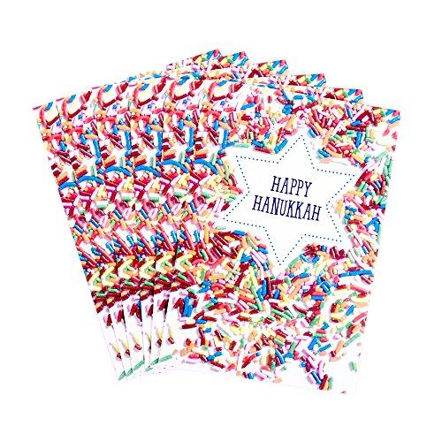 Hallmark Tree of Life Pack of Hanukkah Cards, Sprinkles (6 Cards with Envelopes)