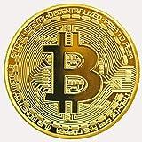 ビットコイン金メッキBitcoin仮想通貨 コイングッズギフト100枚 セット