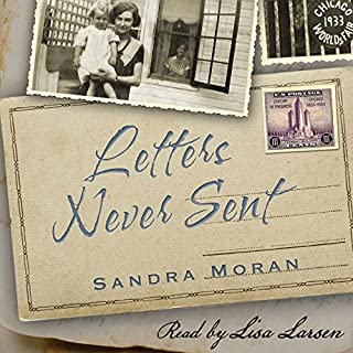 Letters Never Sent audiobook cover art