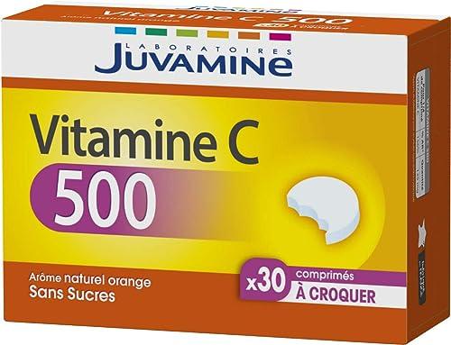 Juvamine VITAMINE C 500, 30 comprimés à croquer