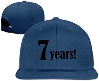 Custom Brand New Snapback 7 Years Music Sporting CapHat Black