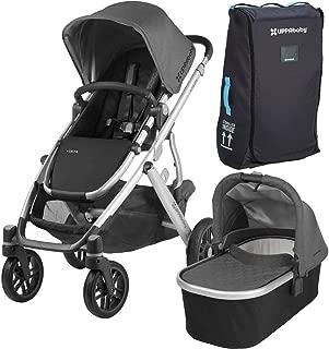 UPPAbaby Full-Size & Versatile Vista Infant Baby Stroller & Travel Bag, Jordan