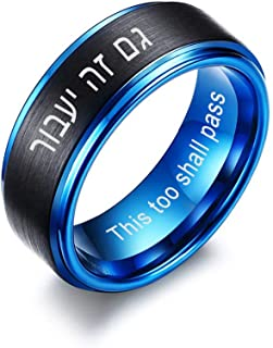 Best hebrew engraved wedding bands Reviews