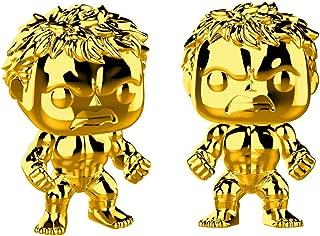 gold hulk pop figure