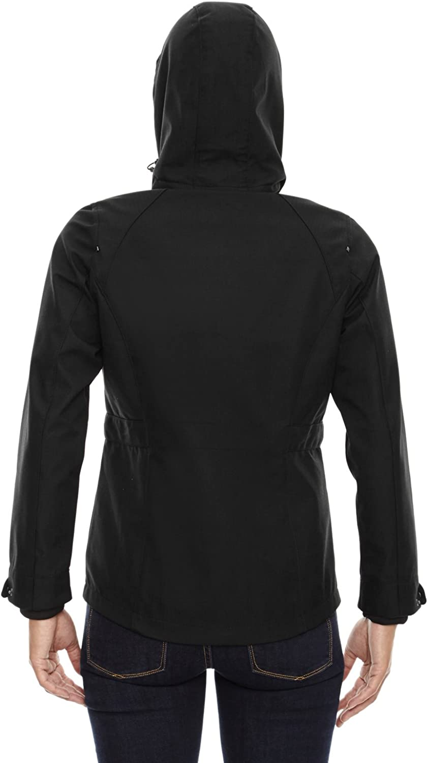 North End Women's 3Layer Light Textured Soft Shell Jacket