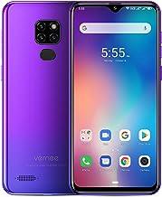 Vernee M7 Smartphone 2019 Dual SIM 4G LTE 4GB RAM 64GB ROM 3 Cámaras Trasera 13MP 1 Cámara Frontal 8MP Gran Pantalla 6.1