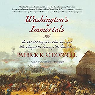 Washington's Immortals cover art
