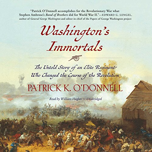 Washington's Immortals audiobook cover art