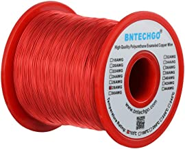 BNTECHGO 28 AWG Magnet Wire - Enameled Copper Wire - Enameled Magnet Winding Wire - 1.0 lb - 0.0122