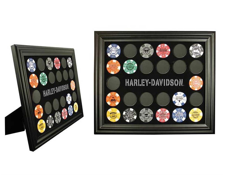 Harley-Davidson Poker Chip Collectors Frame 6927