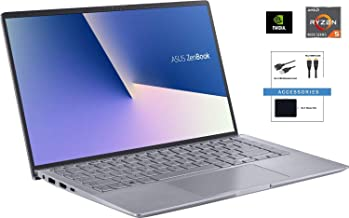 "ASUS ZenBook 14"" Full HD Widescreen LED Display Laptop Bundle Woov Accessory 