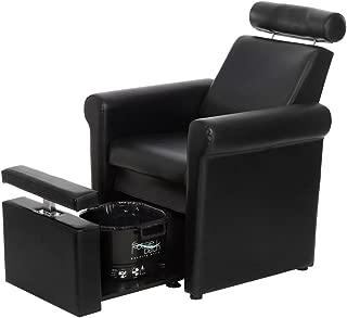 BR Beauty Mona Lisa Pedicure Chair - Black