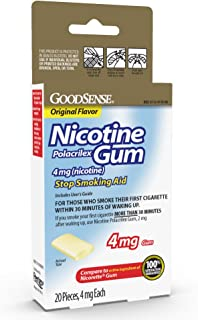 Best cutting 4mg nicotine gum in half Reviews