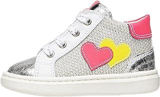 Nero Giardini E021340F Sneakers Kids pour Fille en Cuir Et Toile