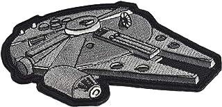 Jadedragon Star War Embroidered Morale Hook Fastener Tactical Patch (Black)