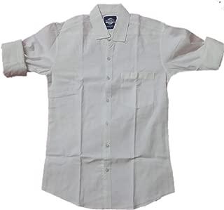 Men's Plain White Shirt