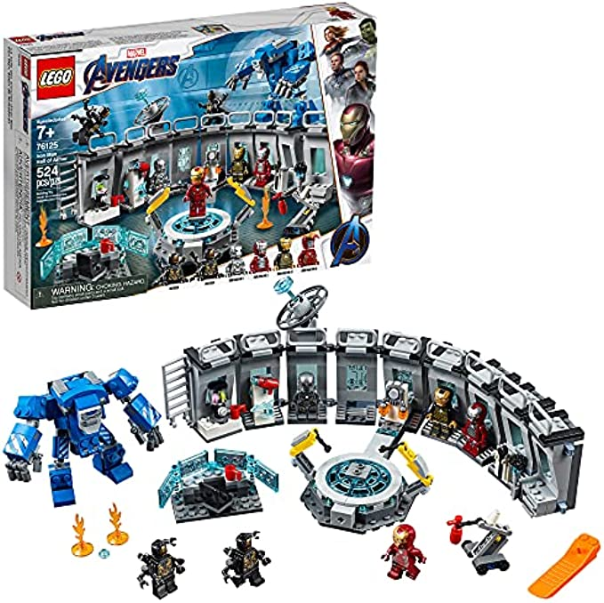 LEGO הנוקמים Iron Man Hall of Armor 76125