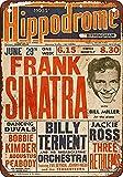 NOT Frank Sinatra in Birmingham ENGL Blechschild Retro