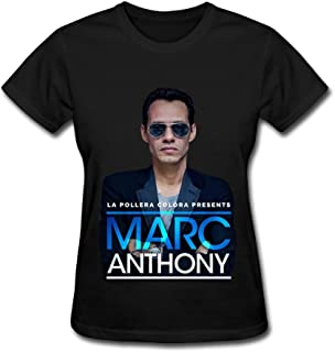Hot Sale US Latin Marc Anthony Live 2016 T Shirt for Women