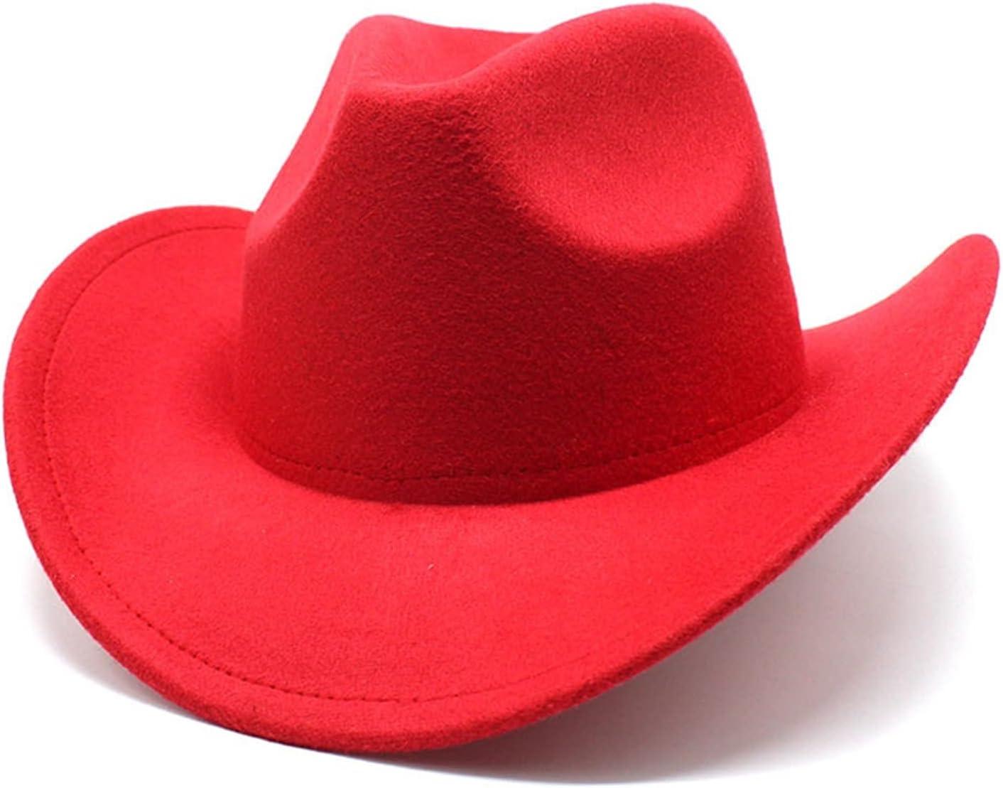 QQSA Felt Brim Fedora Cowboy Hat Wide Minneapolis Mall Hats Bucket Man Elegant Men's