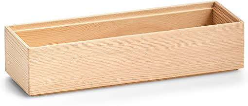 Zeller 13393 pudełko do przechowywania, sosna, ok. 23 x 7,5 x 5 cm