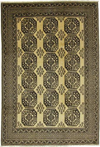 Nain Trading Afghan Ersari 294x201 Orientteppich Teppich Beige/Dunkelbraun Handgeknüpft Afghanistan