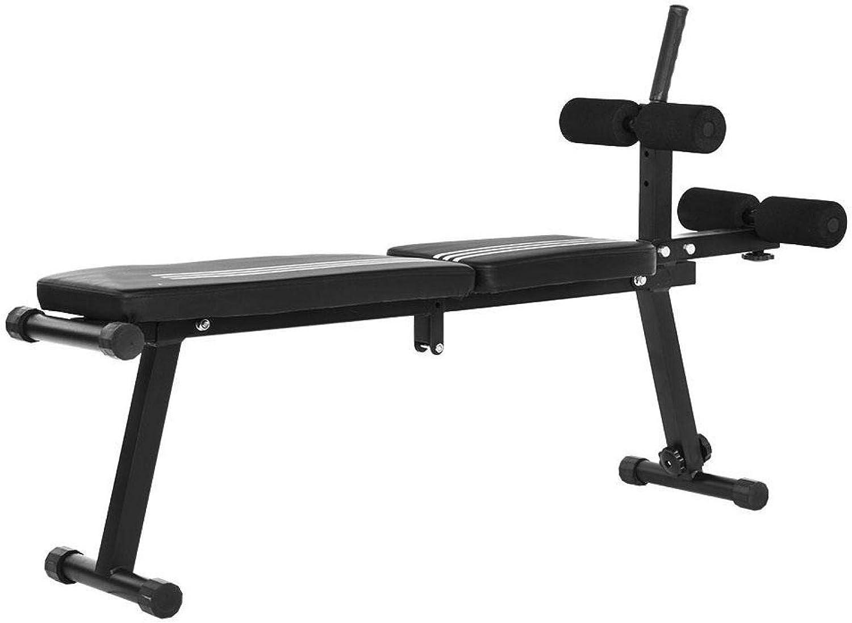 5 ☆ popular PBOHUZ Ab Fitness Bench Durable Steel Decl Adjustable Folding safety