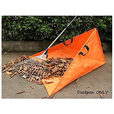 hothuimin Waterproof Garden Garbage Bags Trash Bag Foldable Lawn Pool Garden Leaf Dustpan (Orange)#37-SLYD