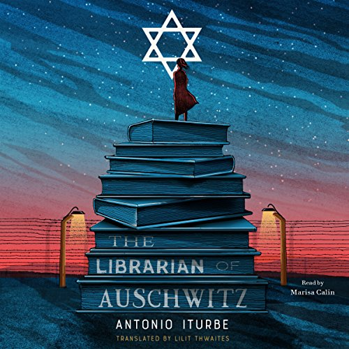 The Librarian of Auschwitz audiobook cover art